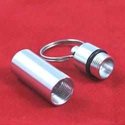Aluminum Container Keychain w/ Pheromones Keychains - AttractionOil.com
