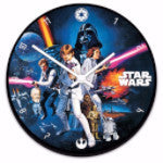Star Wars Wall Clock Drinkware - AttractionOil.com