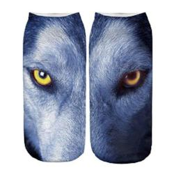 Wolf Eyes Short Socks