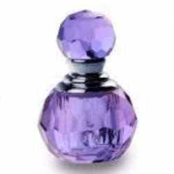Purple Crystal Bottle filled with Pheromone 4X Oil Containers - AttractionOil.com