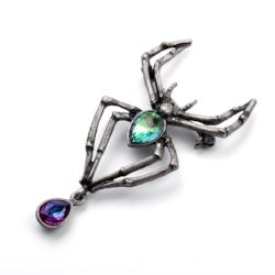 Crystal Spider Brooch Pin Jewelry - AttractionOil.com