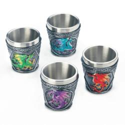 Mythical Dragons Shot Glass Set