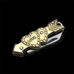 Cupid Hearts Micro Pocket Knife