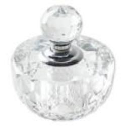 Clear Crystal Bottle filled with 4X Pheromone Oil Containers - AttractionOil.com