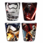 Star Wars Villains Shot Glass Set