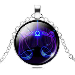 Astrology Sign Constellation Pendant Necklace Jewelry - AttractionOil.com