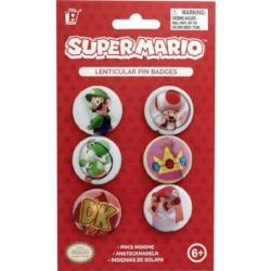 Set of 6 Super Mario Brothers Pins
