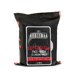 The Nobleman Face & Body Cleansing Wipes