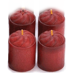 Votive Candles - Set of 4 Candle Collection - AttractionOil.com