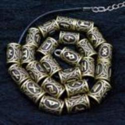 Customizable Norse Rune Charm Necklace Jewelry - AttractionOil.com