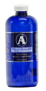 32 oz Manganese Supplement by Angstrom Minerals 400 ppm