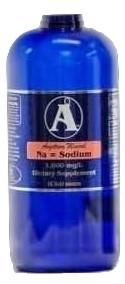32 oz Sodium Supplement by Angstrom Minerals 1000ppm