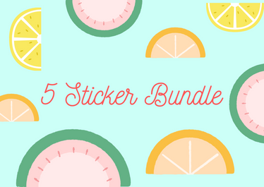 5 Sticker Bundle