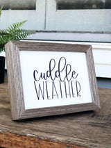 Cuddle Weather Print
