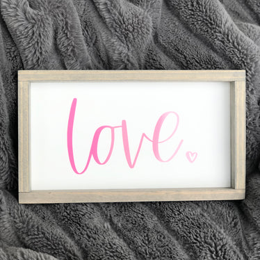 Love Sign - Ombre