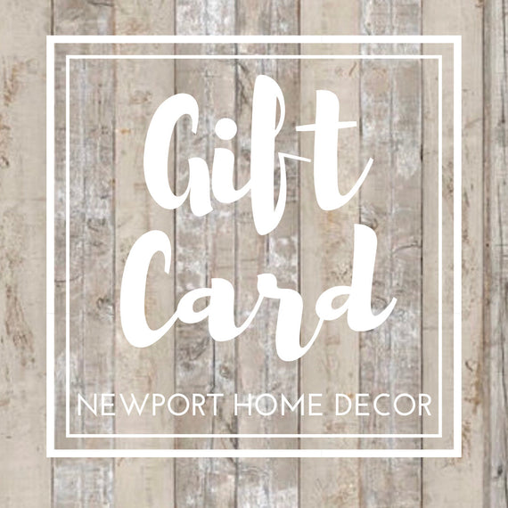 GIFT CARD - Choose shop credit amount