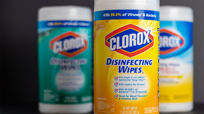 The global demand for Lysol and Clorox products