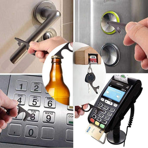 No-Touch Door Opener & Stylus Keychain - PPE Supply Canada