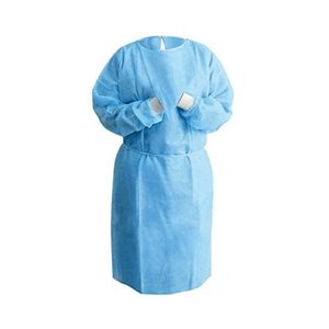 Isolation Gown (Knit Cuff) (10 PCS) - PPE Supply Canada