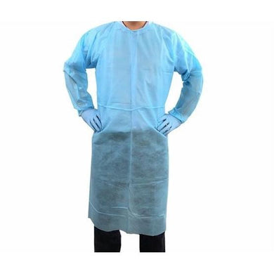 Isolation Gown (Elastic Cuff) (10 PCS) - PPE Supply Canada