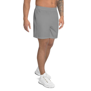 Japanese Indicive 2 - Men's Athletic Long Shorts (Gray)