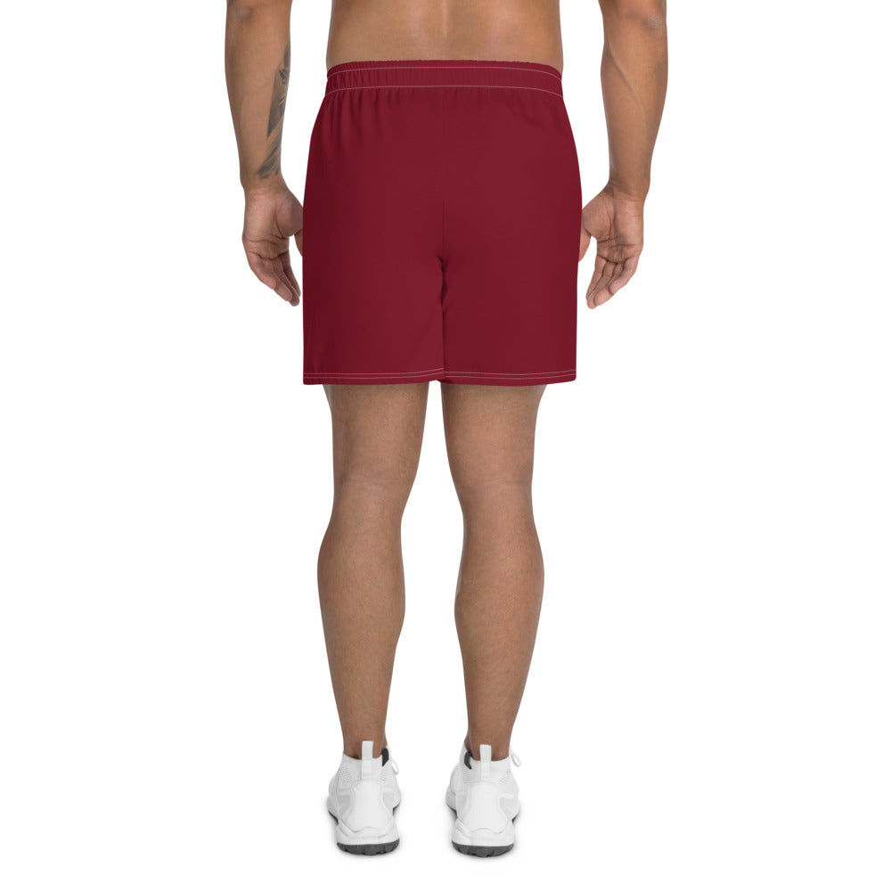 Japanese Indicive - Men's Athletic Long Shorts (Red)