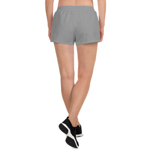 Indicive IS - Women's Athletic Short Shorts (Gray)