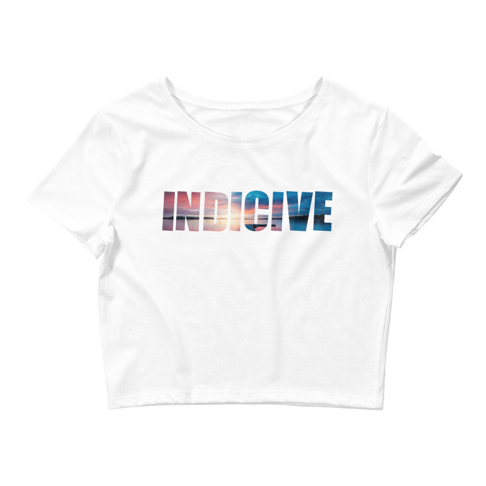 Indicive Sunset - Women's Crop Top