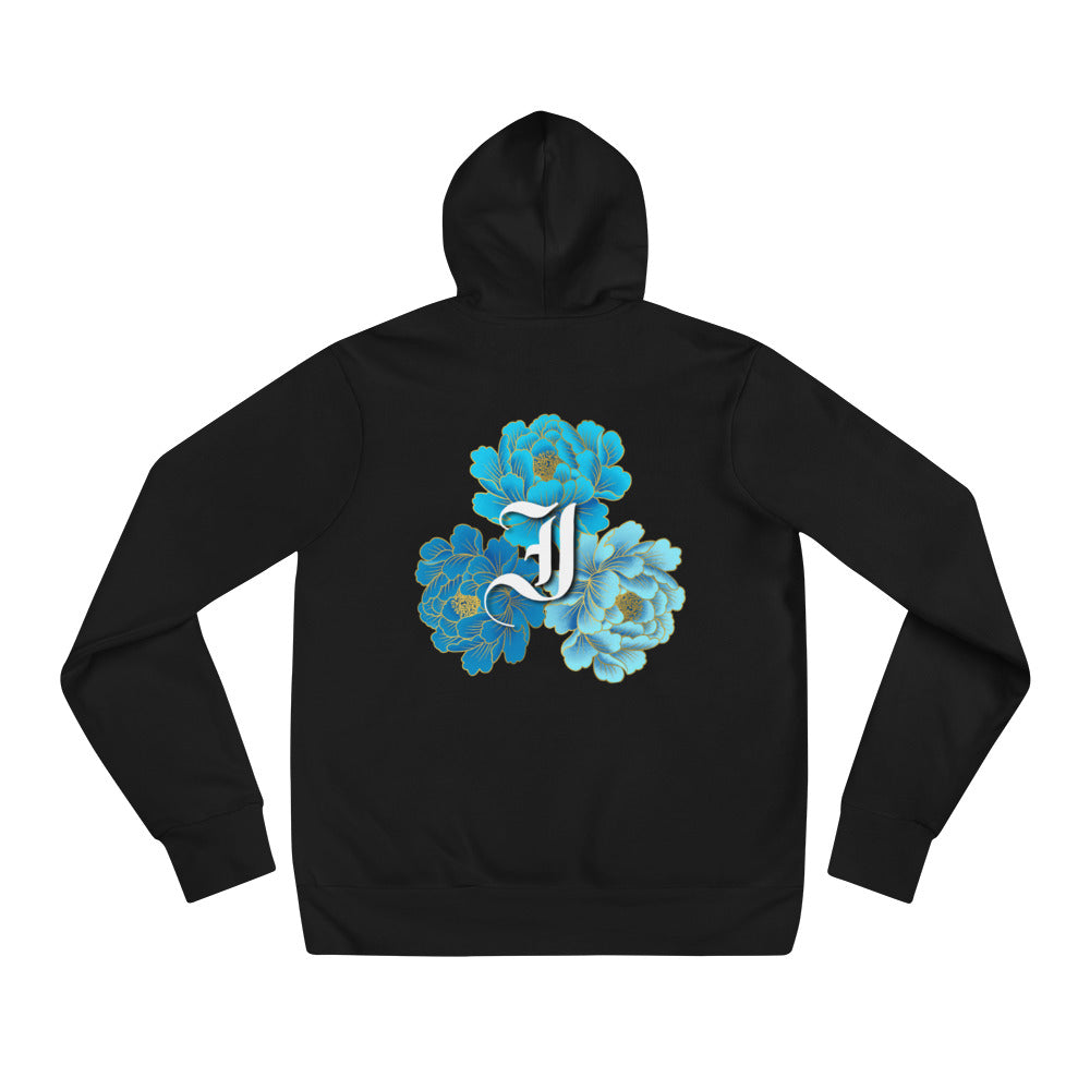 Lotus Hoodie - Indicive + Laura Parra (White Letters)