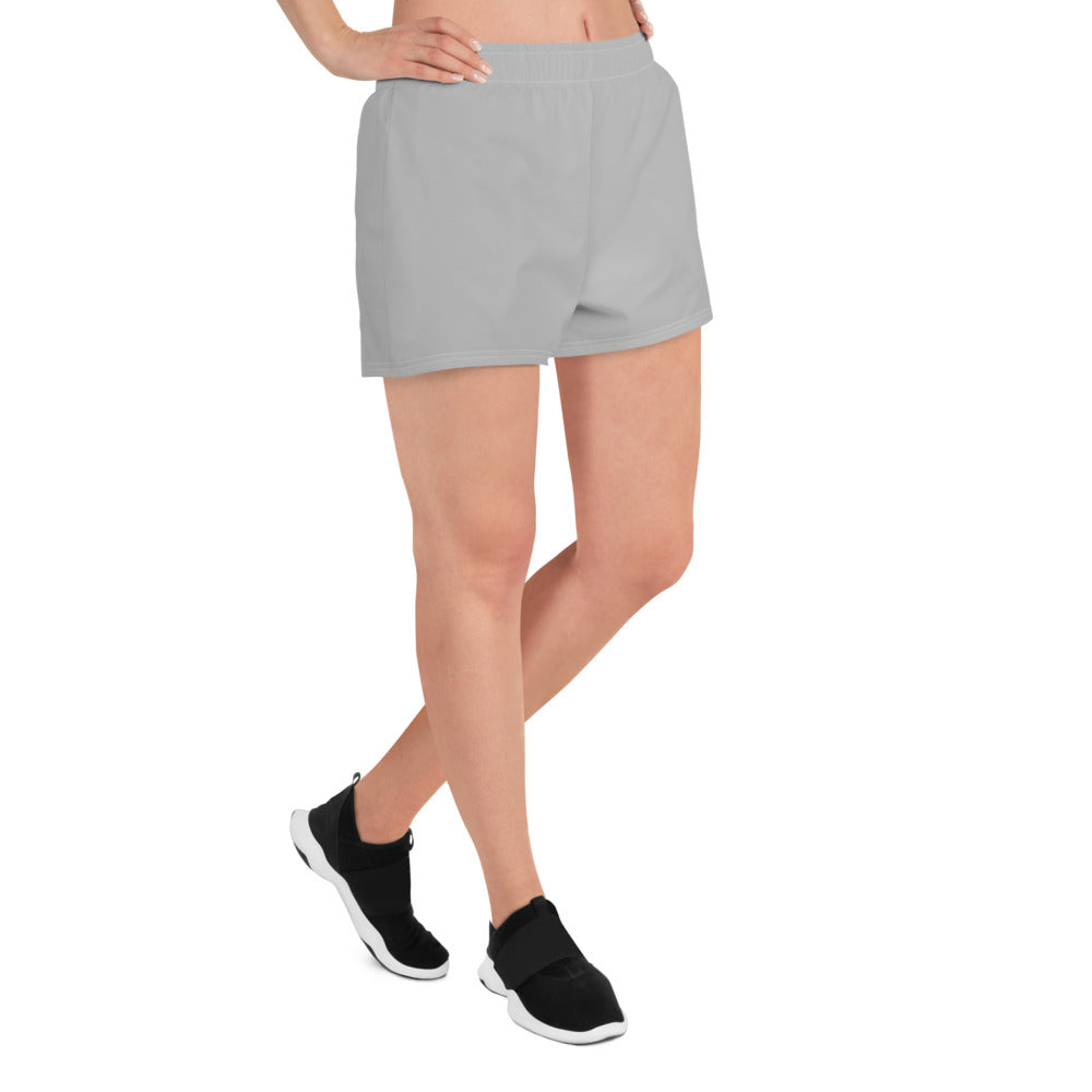 Japanese Indicive 2 - Women's Athletic Short Shorts (Gray)
