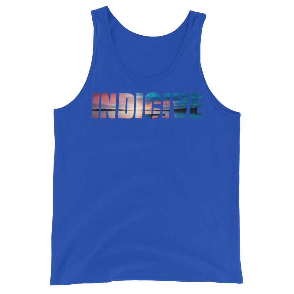 Indicive Sunset - Men's Tank Top