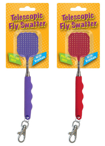 Telescopic Keychain Fly Swatter