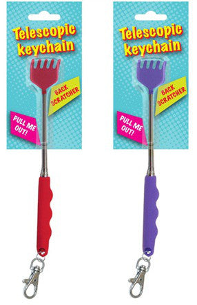 Telescopic Keychain Backscratcher
