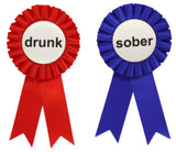Drunk & Sober Ribbons