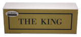 The King Desk Plate
