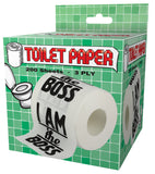 I Am The Boss Toilet Paper