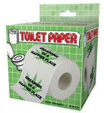 Dreaming of A Happier Place Toilet Paper
