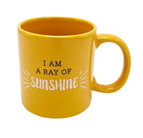 Giant Orange Ray of Sunshine Mug