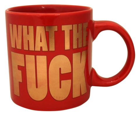 Giant What The Fuck Foil Mug