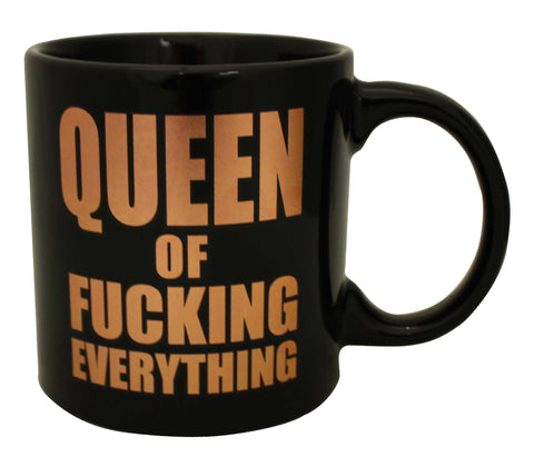 Giant Queen of Fucking Everything Foil Mug