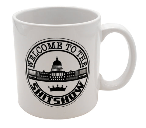 Giant DC Shit Show Mug
