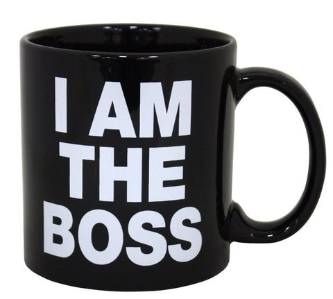 I Am The Boss Giant Mug