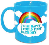 Giant Poop Rainbows Mug