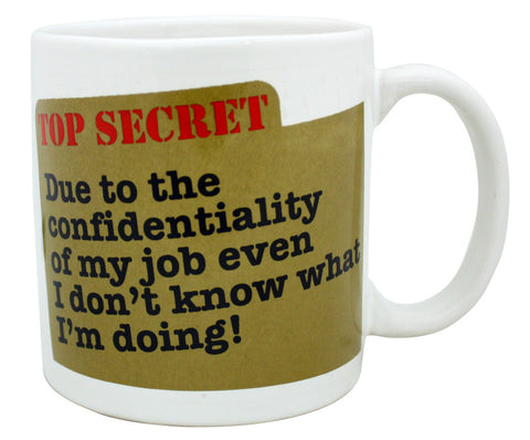 Giant Mug Top Secret