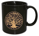 Giant Black Tree of Life Mug