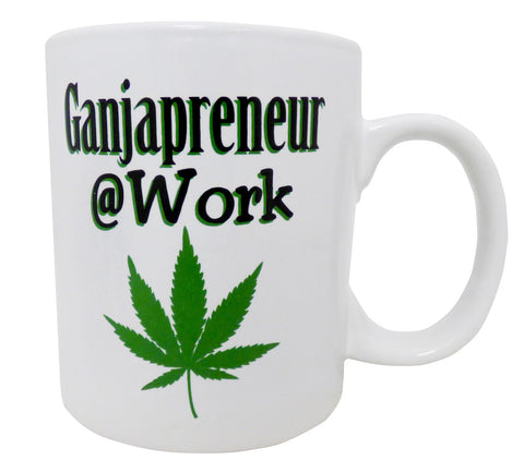 Ganjapreneur @ Work Mug
