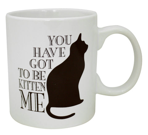 16 oz. You Have Got To Be Kitten Me Mug