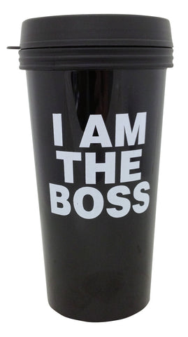 I Am The Boss Travel Mug