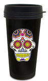 Candy Skull Travel Mug