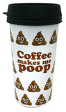 Poop Emoti Travel Mug